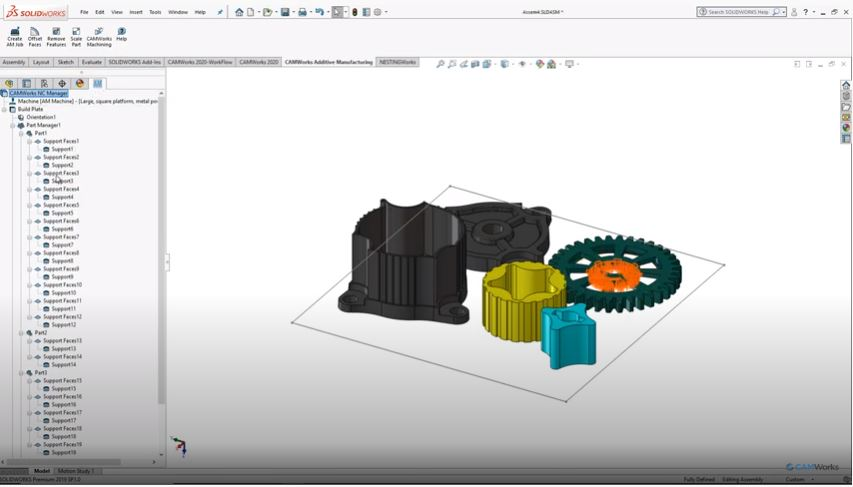 Additive in Assemblies