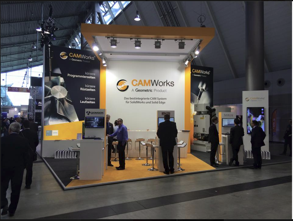 CAMWorks Booth Moulding Expo 2015