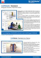 CAMWorks standard data sheet image
