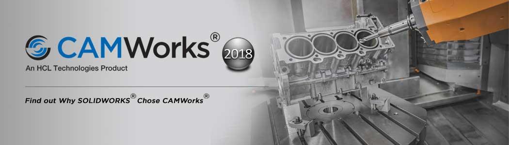 CAMWorks 2018 powering SOLIDWORKS CAM
