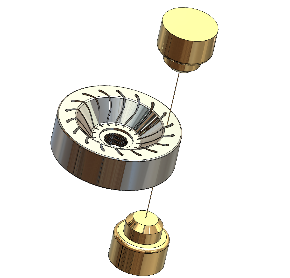 Wheel with Wire and Guides