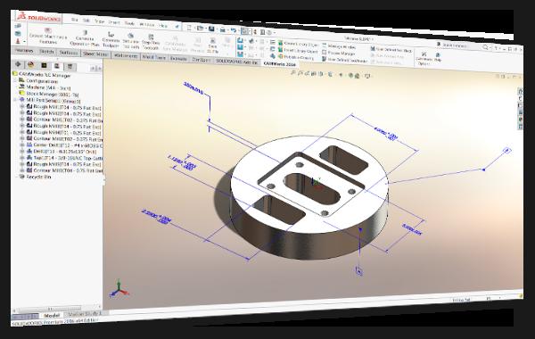CAM Software - Tolerance Based Machining